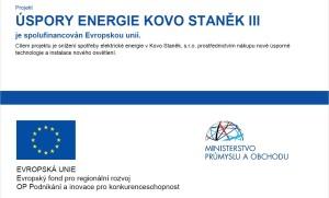 Úspory energie KS III
